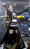 Shania at the SuperBowl!